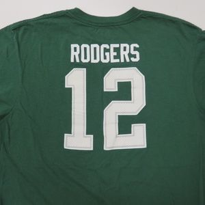 08b0c83c Aaron Rodgers Green Bay Packers Jersey T-Shirt 2xl